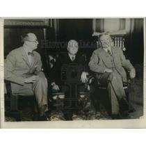 1926 Press Photo Leipzig mayor guest of Chicago