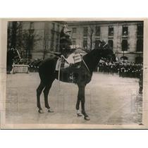 1928 Press Photo Colonel Moinier, Republican Guard of Paris
