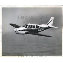 1964 Press Photo A Beechcraft Debonair in Flight