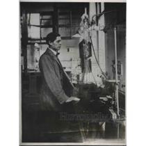 1926 Press Photo Professor The Svedberg Wins Nobel Prize in Chemistry