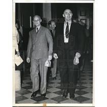 1941 Press Photo Brooklyn, NY Adolph Walischewski, Alex Wheelerhi;;, espionage