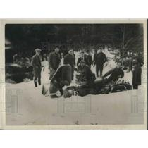 1923 Press Photo New rotary snow plow mounted on Fordson tractor