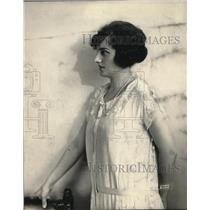 1924 Press Photo Clara Schlief Municipal Opera Scholarship Winner