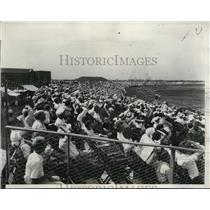 1933 Press Photo American Air Race crowds outside Chicago - nec52343