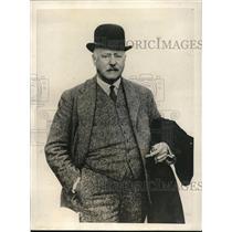 1923 Press Photo Lt Gov WC Nichol challenge by Pres Harding to a golf match