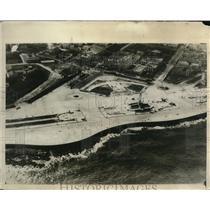 1930 Press Photo Aerial view of Main monument at Havana, Cuba - nec52112
