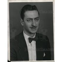 1933 Press Photo Herbert L. Block