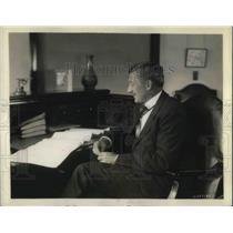 1931 Press Photo William S. Knudsen, Executive Vice President, General Motors.