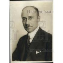 1919 Press Photo Swiss Charge d'Affaires Aderlin