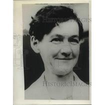 1927 Press Photo Mrs Nona Hamilton. Hiking Granmom walked Cal to Seattle