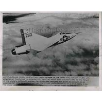 1952 Press Photo Convair XF-92A of U.S. Air Force with J-33-A-29 Engines.