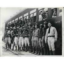 1935 Press Photo Louisiana National Guardsmen - nem13325