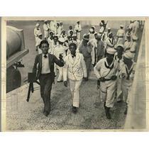1933 Press Photo Sgt Angel A Gonzales at Ft Cabanas in Havana, Cuba