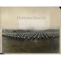 1928 Press Photo The Sokol demonstration - that of Czechoslovak gymnastics was