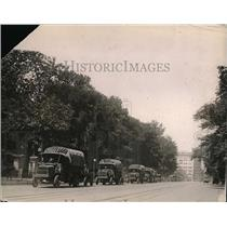1920 Press Photo US Army truck leave from D.C. for Pacific Coast