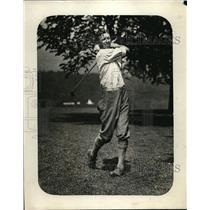 1924 Press Photo Golfer at a tournament in Atlanrta, Ga former caddie