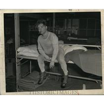 1946 Press Photo Joe McTurk, actor, featured in France Yank Magazine