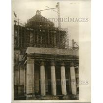1930 Press Photo Kejmachi, Toyko New Diet bldg. construction