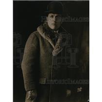 1922 Press Photo Capt. Hugo Sunostedt of the Swedish Navy.
