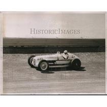 1937 Press Photo Babe Stapp on the track. - nes13186