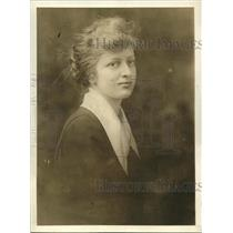 1919 Press Photo Virginia Sutherland daughter Senator Howard Sutherland West