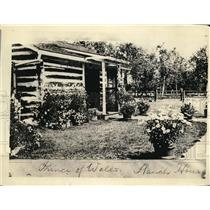 1924 Press Photo Prince of Wales ranch house in Canada
