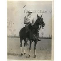 1927 Press Photo Marvin Harrison blue team Polo Club - nes11572