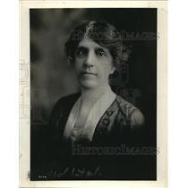 1919 Press Photo Mrs Oliva Barton Strohm Vocational Director