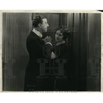 1921 Press Photo Stuart Holmes and Mabel Julienne Scott