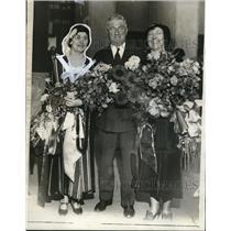 1931 Press Photo Mr. Louise Williams, Mrs. Robert L. Hoyal, Ralph T. O'Niel
