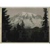 1925 Press Photo Mt Ranier Natl Park in Tacoma, Wash