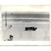 1935 Press Photo Cummings sets world mark for Diesel motored cars Wild Bill