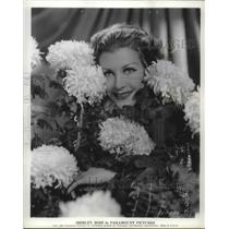 1932 Press Photo Actress Shirley Ross of Paramount Pictures