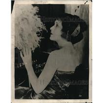 1921 Press Photo Miss Virginia Valley for a performance