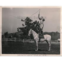1923 Press Photo Reginald Snowy Baker Athlete Sports Promoter & Actor