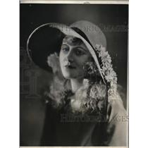 1926 Press Photo Christiane Rhodes, one of the leading ingenues of the French