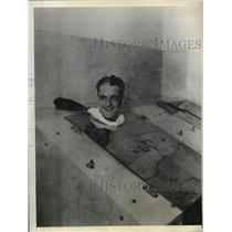 1931 Press Photo Jesse Petty Veteran Southpaw of Chicago Cubs - nes11086