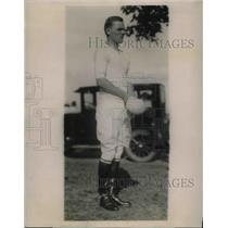 1924 Press Photo Robert E. Strowbridge, Jr., Meadowbrook Polo Club