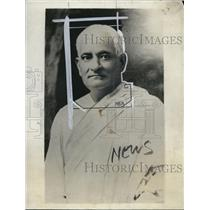 1928 Press Photo Pandit Motilal Nehru, Indian National Congress, Calcutta