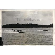 1931 Press Photo At the National Sweepstakes Regatta at Red Bank, NJ.