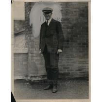 1924 Press Photo Kain G. Dare, writer of prison tales