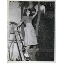 1940 Press Photo Frances Langford - nec59613
