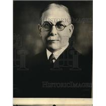 1922 Press Photo Dr.Willard B.Small Executive Officer of  US Bureau of Education