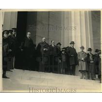 1923 Press Photo American Legion at the Lincoln Memorial