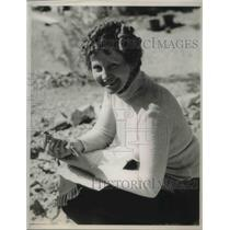 1933 Press Photo Barbara Clegg (Mrs. Norman Schneider) gave up her stage career
