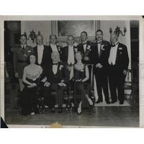 1931 Press Photo Ancient Philadelphia Famous Family Reunion Biddles Pennsylvania
