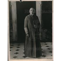 1923 Press Photo Guiseppe Migone, one of the Pope's staff in Vatican - nex07540