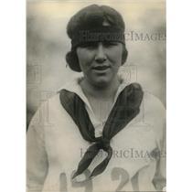 1921 Press Photo Ernestine Weier, Sandusky College Sr