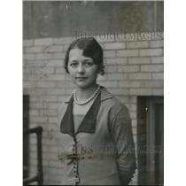 1928 Press Photo Miss Lillian Ramsey