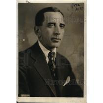 1920 Press Photo W. Jett Leuck, US Railroad Labor board